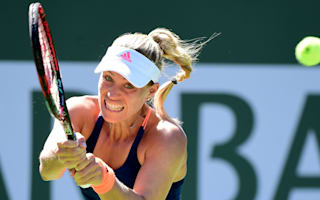Kerber eases into third round at Indian Wells, Halep advances