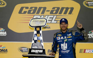 Earnhardt and Kyle Busch take out Can-Am Duels at Daytona
