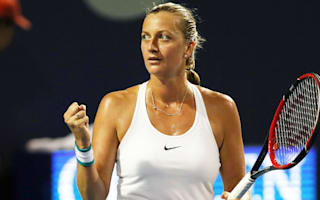 Kvitova and Vinci power into New Haven quarter-finals