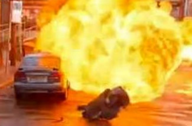 Coronation Street rocked by massive explosion