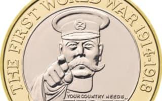 Kitchener war coin 'offensive'
