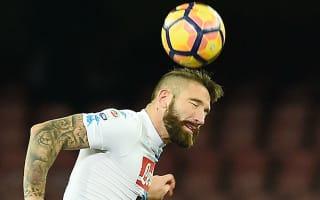 Napoli 2 Sampdoria 1: Debutant Tonelli grabs last-gasp win over 10-man visitors