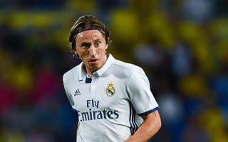 Modric glad after winning return from injury