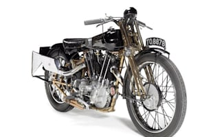 Brough deal as rare bike is set to sell for £300k