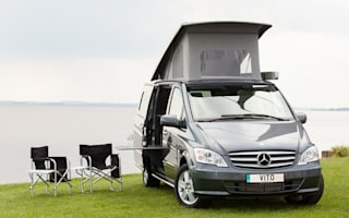 Win! A Mercedes-Benz campervan for Easter bank holiday weekend