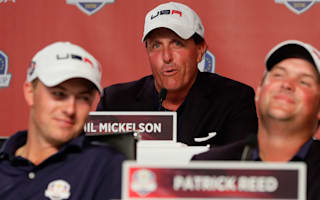 'Dumbass' Mickelson admits putting USA under pressure