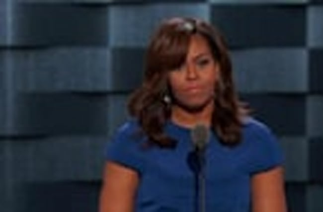 Michelle Obama's Hillary speech brings down the house