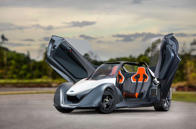 We try Nissan's bonkers BladeGlider