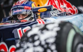 Max Verstappen takes to the ski slopes in Red Bull F1 car