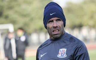 Tevez suffers defeat on Shanghai Shenhua debut
