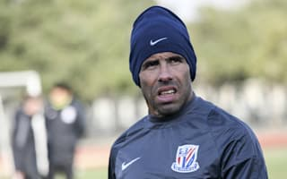 Tevez suffers defeat on Shanghai Shenhua debut