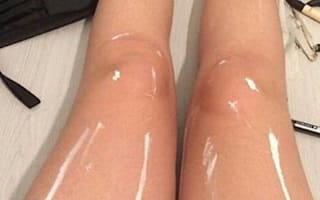 You won't believe these shiny legs: The latest optical illusion to blow your mind