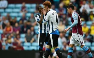 Aston Villa 0 Newcastle United 0: Benitez's side dealt major blow in survival chase