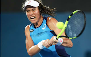 Konta beats Bouchard in Sydney semis