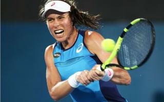 Konta beats Bouchard in Sydney semis