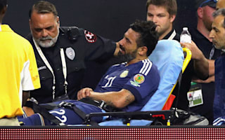Lavezzi to miss Copa America final after fracturing elbow