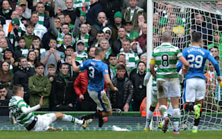 Celtic 1 Rangers 1: Hill steals battling Old Firm point as Caixinha looks on