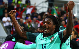 Sanches happy to be involved as Portugal reach quarters