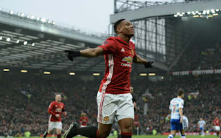 Wigan game is not Martial's last chance at United - Mourinho