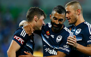 Melbourne Victory 4 Perth Glory 1: Berisha keeps hosts in title race