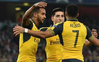 Walcott: Sanchez partnership bodes well for Arsenal's season