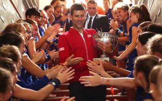 Sampras showers praise on 'bull' Djokovic