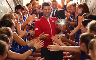 Sampras showers praise on 'bull' Djokovic