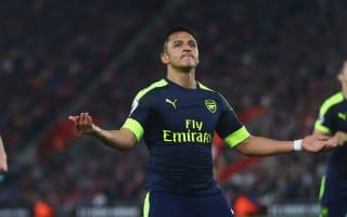 Southampton 0 Arsenal 2: Sanchez hits 20 for season as Gunners dream of top four