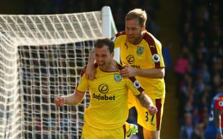 Crystal Palace 0 Burnley 2: Barnes and Gray seal long-awaited first away win