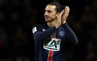 Paris Saint-Germain 3 Lyon 0: Ibrahimovic fires holders into last eight