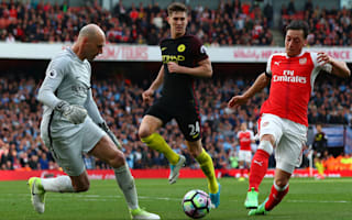 Ozil bottled it! - Neville slams Arsenal star, Koscielny & Walcott