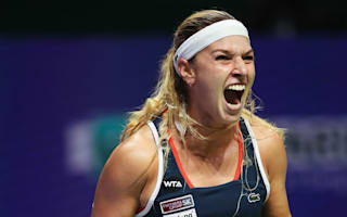 Cibulkova knocks out Halep to stay in semi-final hunt