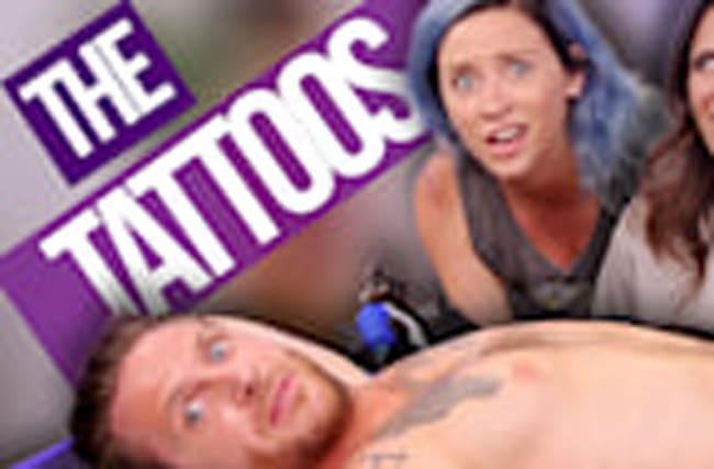 OUR FACES GOT TATTOOED ON HIS…..?!?!? (Beauty Break)