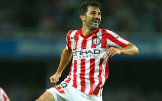 David Villa lauds A-League standard