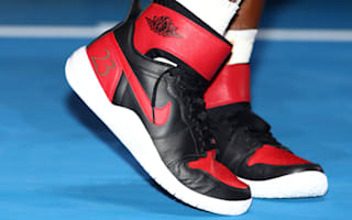 Rocking fresh kicks for the record books, Serena to enjoy 'Jordan status' while she can