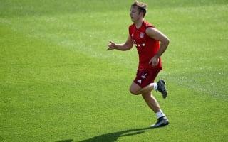 Gotze back in Bayern Munich training