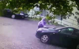 Elderly woman's car stolen in leaking car scam