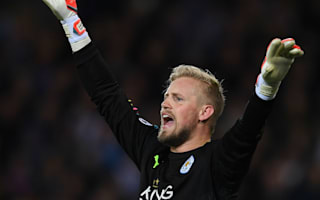 Leicester City 2 Sevilla 0 (3-2 agg): Schmeichel penalty save maintains fantastic Foxes revival under Shakespeare