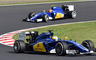 Sauber F1 team-mates put their rivalry aside in 2015