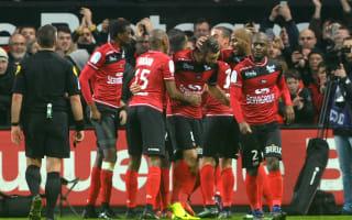 Guingamp 2 Paris Saint-Germain 1: Pressure grows on Emery as champions humbled