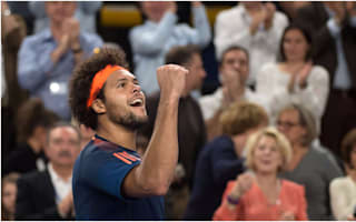 Tsonga ends Kyrgios' Open 13 defence
