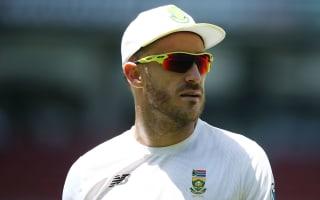 Du Plessis: No hard feelings towards Aussie public