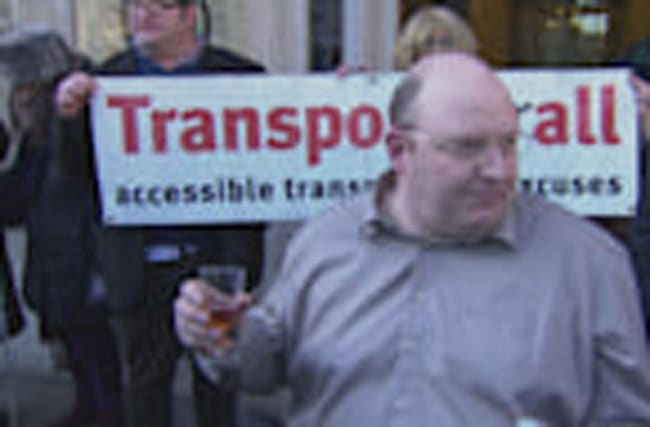 Disability campaigner wins transport case after 5years