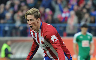 Torres honoured to reach Atletico milestone