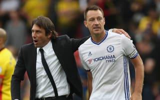 Conte: Terry return between him and Allardyce