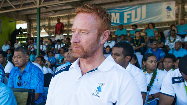 Ben RyanFiji sevens coach lands another honour