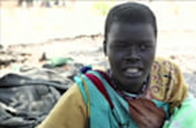 Famine-hit S.Sudanese eat weeds to survive