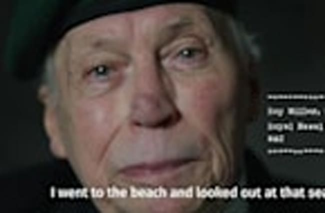 Rethink remembrance: WWII veterans in moving Armed Forces video