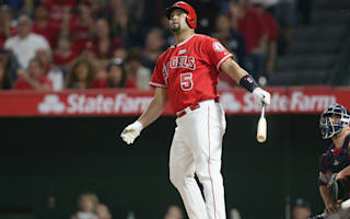 Pujols crushes 600th home run, Volquez throws no-hitter