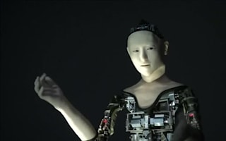 New humanoid robot controls its own movements